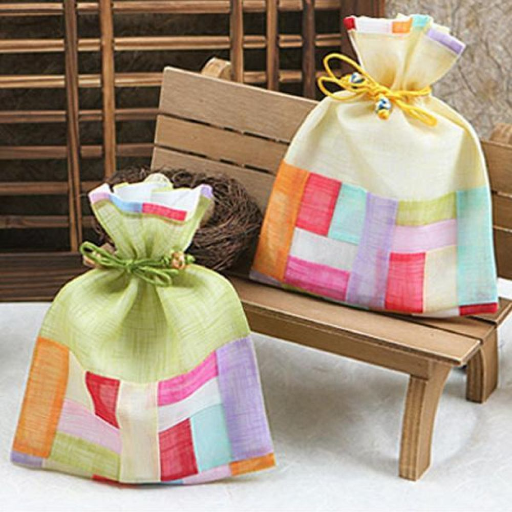 전통 복주머니(중)/설날/추석/외국인 선물