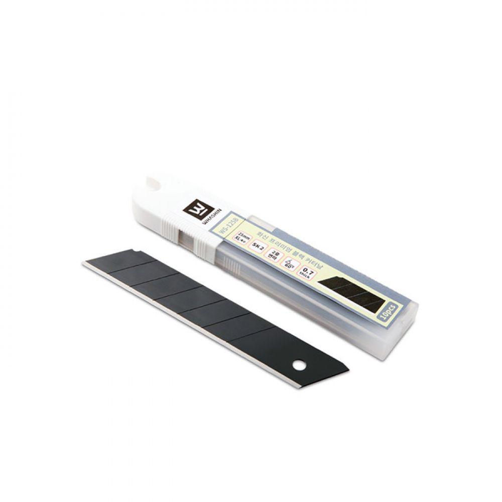 화신 125B 프리미엄블랙컷터날 (25mm) [제작 대량 도매 로고 인쇄 레이저 마킹 각인 나염 실크 uv 포장 공장 문의는 네이뽕]