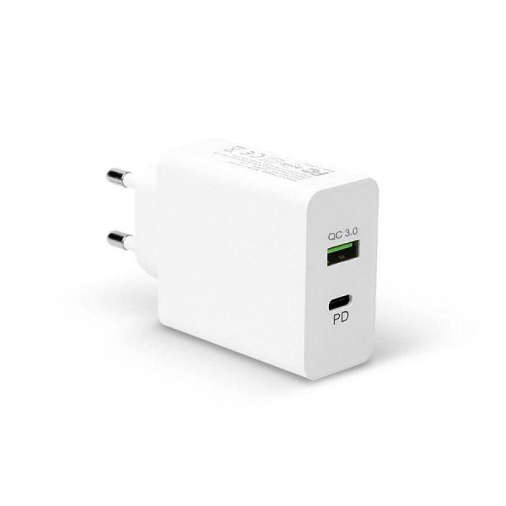 NEXT-QTC603 USB TypeC 2포트 고속충전기 QC3.0