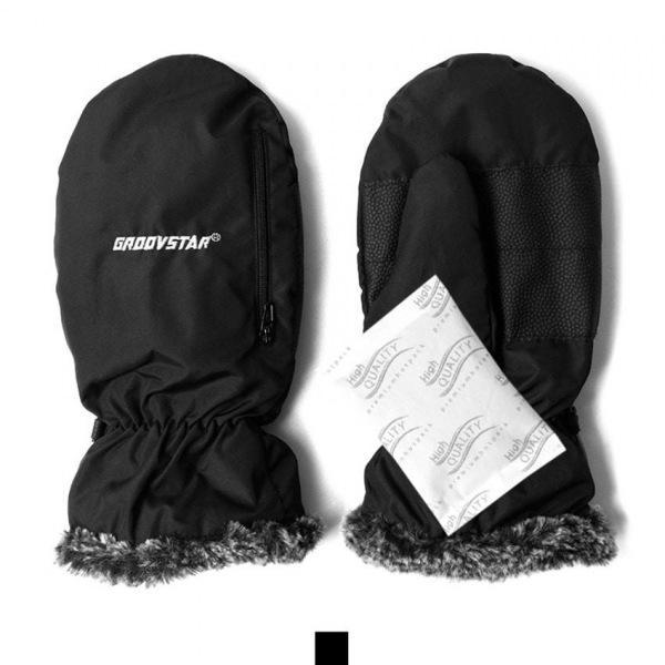 핫팩 방한방수 벙어리 남성장갑