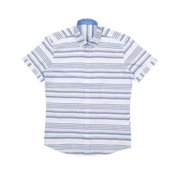 남자셔츠 디자인 단가라 반팔셔츠 J0417013