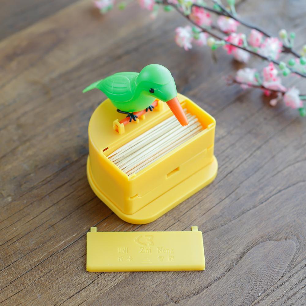 새모양 원터치 이쑤시개통 이쑤시개꽂이 요지통 요지꽂이 아이디어주방용품 주방소품 아이디어생활용품