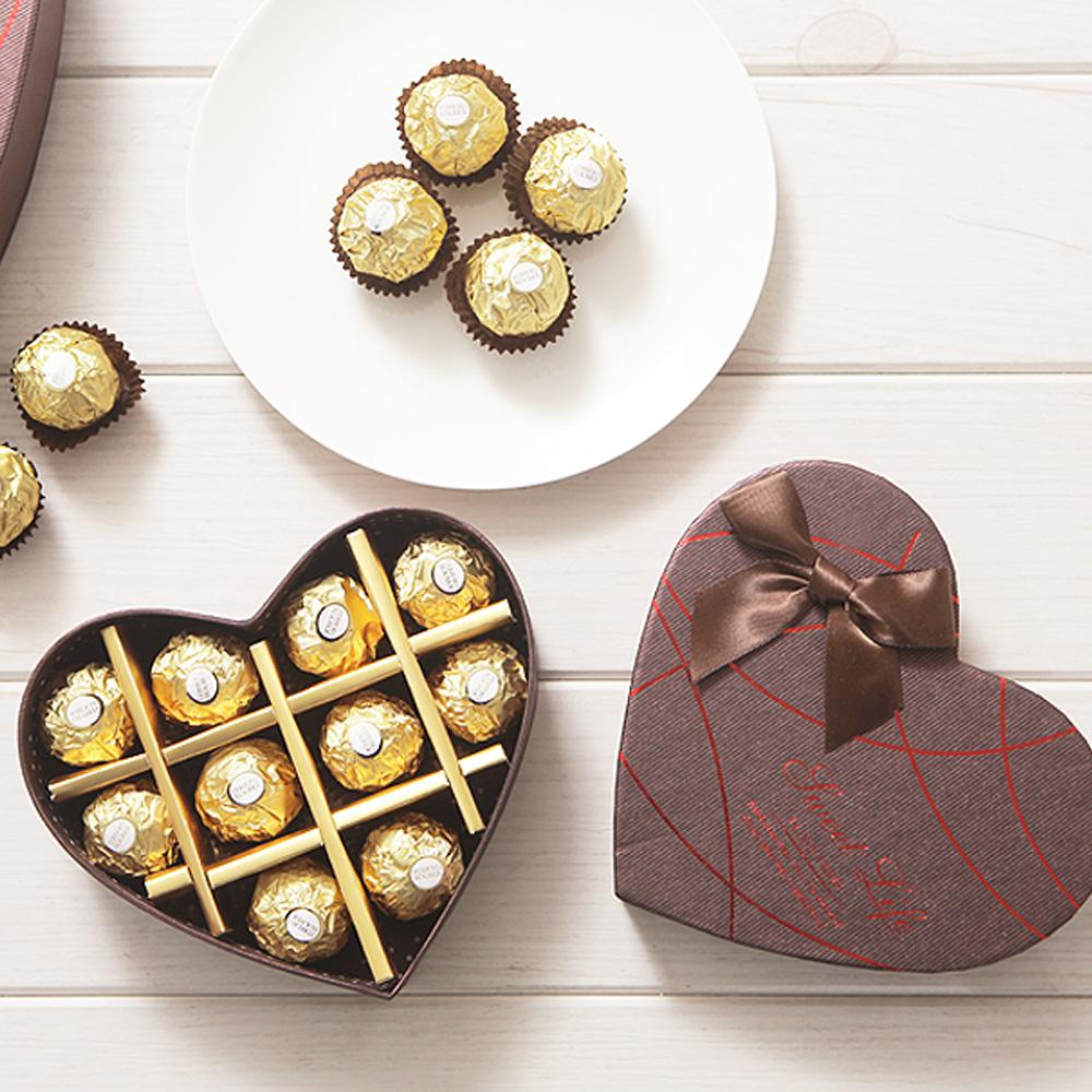 러브하트 페레로로쉐(T10) 초콜릿 초콜렛 발렌타인데이 화이트데이