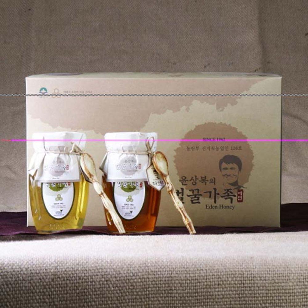 에덴양봉원_윤상복의 벌꿀가족 4호 1.2kg