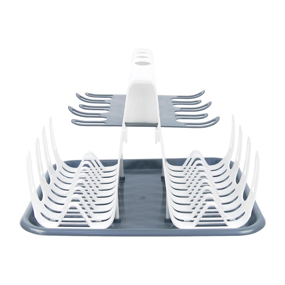 컴팩트 다용도 식기건조대 설거지건조대 기둥식식기건조대 그릇건조대 컵건조대 주방컵걸이 컵진열대