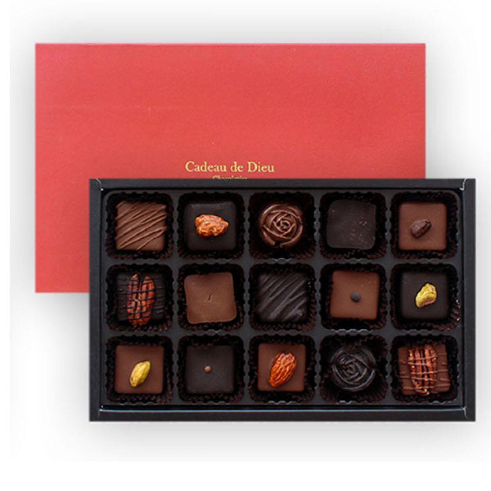 뉴씬시어 초콜릿(15구) 초콜렛 발렌타인데이 화이트데이