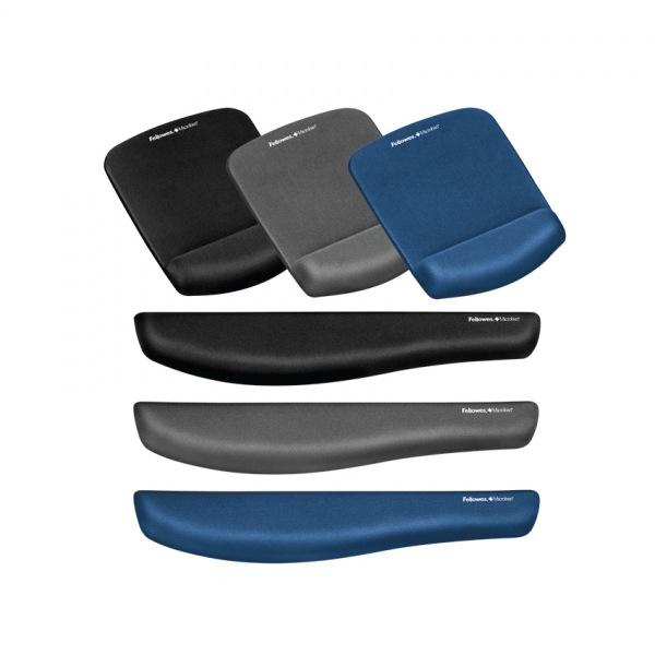 펠로우즈 플러쉬터치 손목받침대(블루) 92874 메모리폼손목보호대[제작 대량 도매 로고 인쇄 레이저 마킹 각인 나염 실크 uv 포장 공장 문의는 네이뽕]