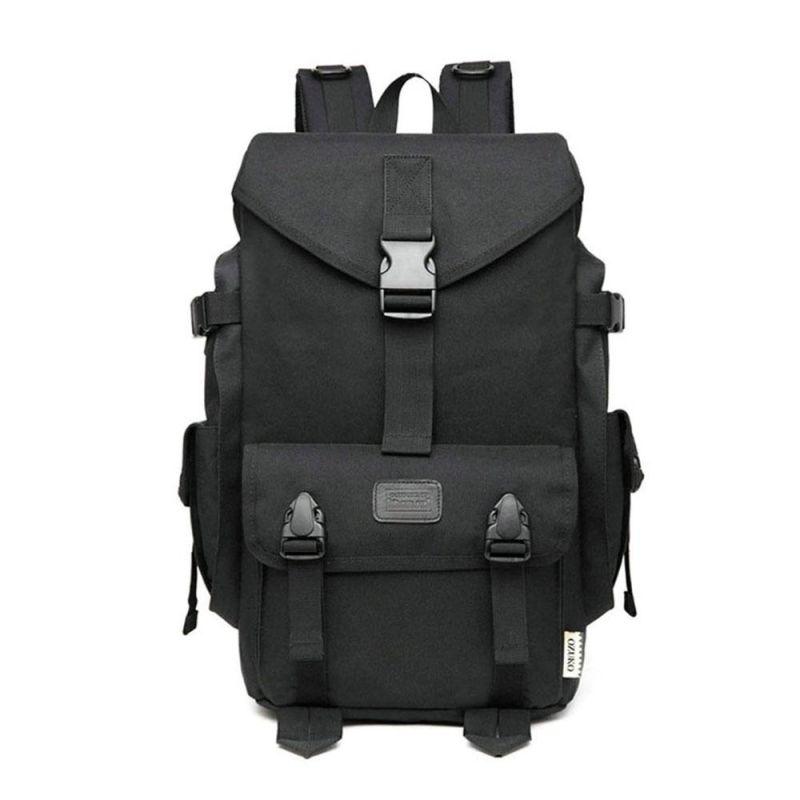 가방 BLACK- 등산 배낭 버클 백팩 여행 전술 오프로드