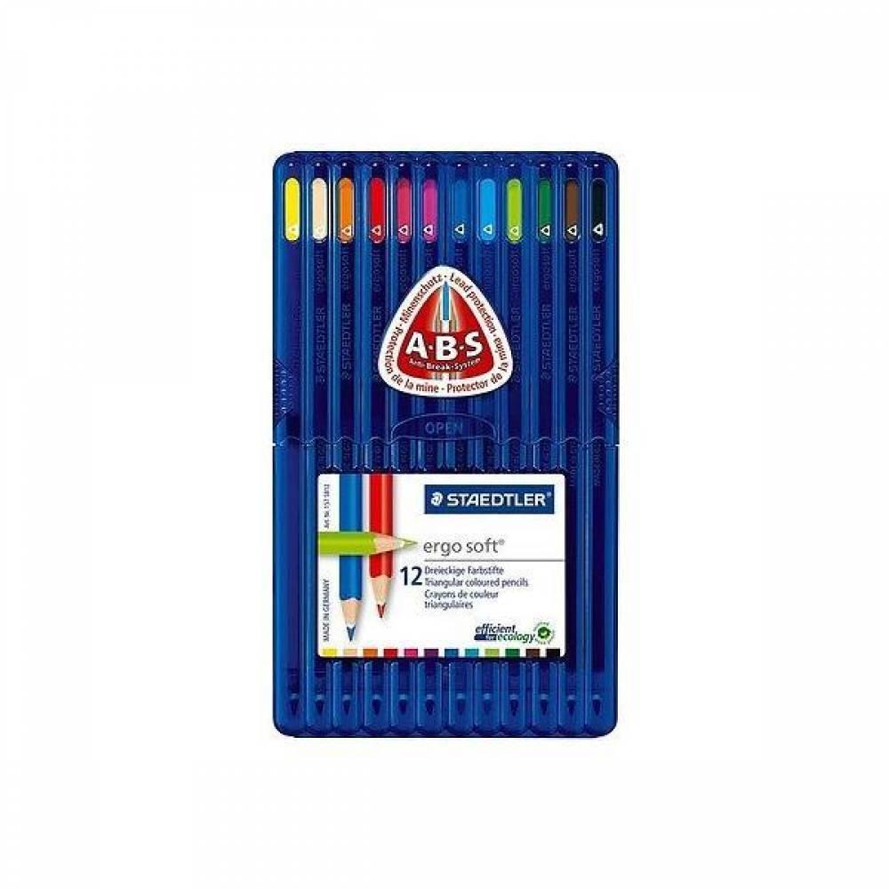 스테들러 에고소프트 157SB12 12칼라 색연필 세트