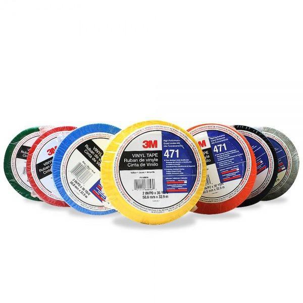 3M 471 PVC 바닥 라인테이프 32.9m 황 녹 적 검 청 백 [제작 대량 도매 로고 인쇄 레이저 마킹 각인 나염 실크 uv 포장 공장 문의는 네이뽕]