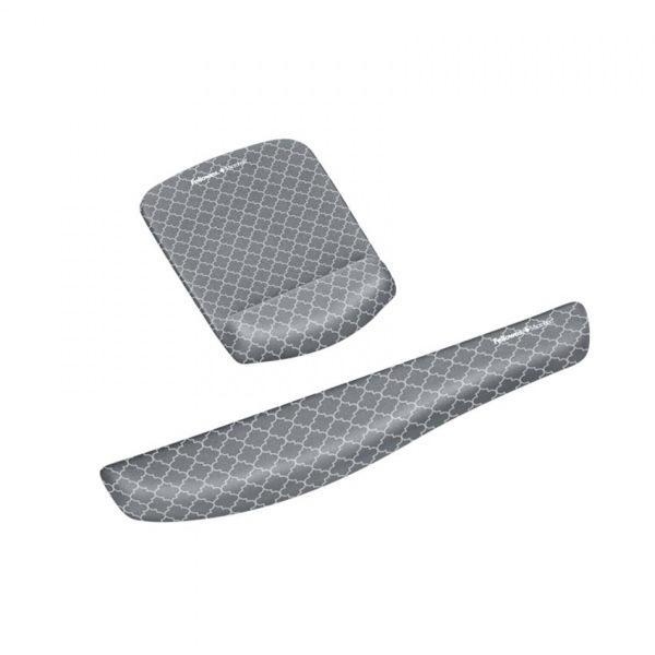 펠로우즈 플러쉬터치 손목받침대 패턴 95498 메모리폼손목보호대[제작 대량 도매 로고 인쇄 레이저 마킹 각인 나염 실크 uv 포장 공장 문의는 네이뽕]