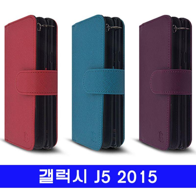 갤럭시 J5 bella 지퍼지갑 J500 케이스