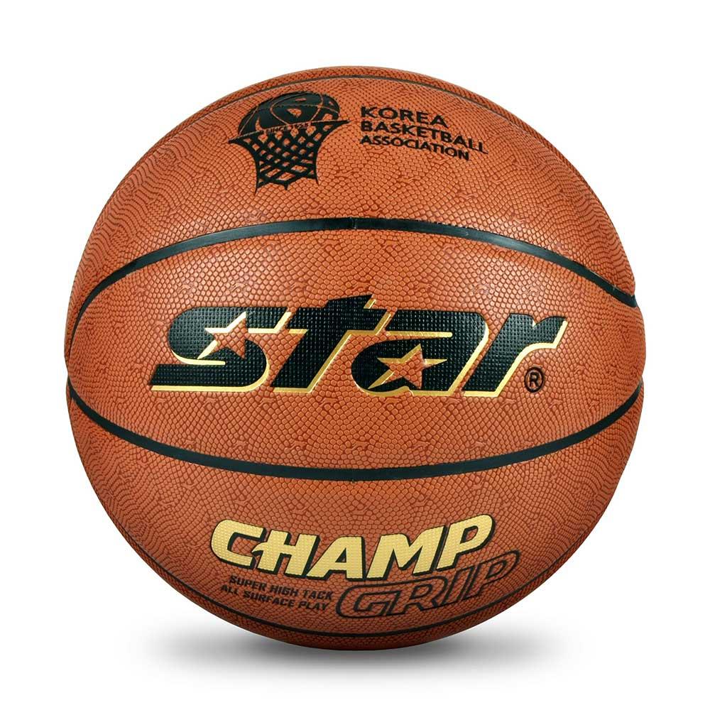 스타 농구공 챔프 그립 BB4657 [제작 대량 도매 로고 인쇄 레이저 마킹 각인 나염 실크 uv 포장 공장 문의는 네이뽕]