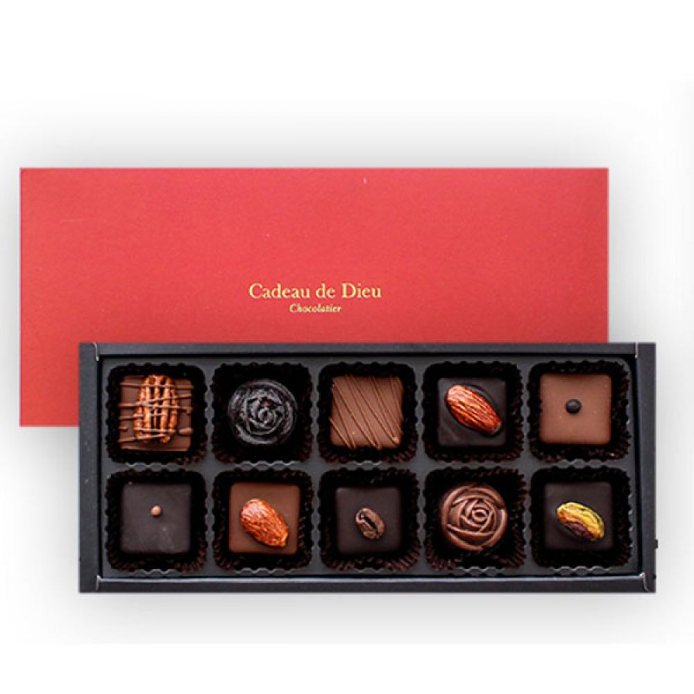 뉴씬시어 초콜릿(10구) 초콜렛 발렌타인데이 화이트데이