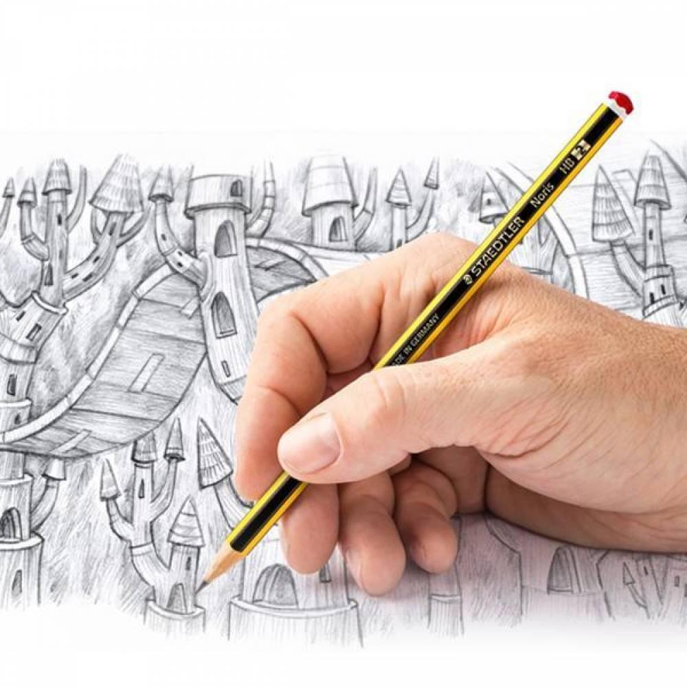 스테들러 노리스 120 연필 12개입 펜슬