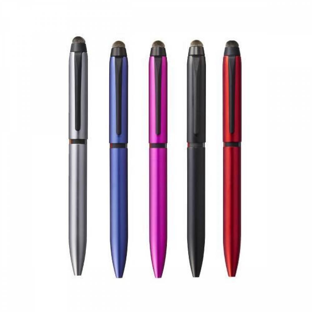 미쯔비시 유니 제트스트림 스타일러스 SXE3T-1800 멀티 터치펜 [제작 대량 도매 로고 인쇄 레이저 마킹 각인 나염 실크 uv 포장 공장 문의는 네이뽕]