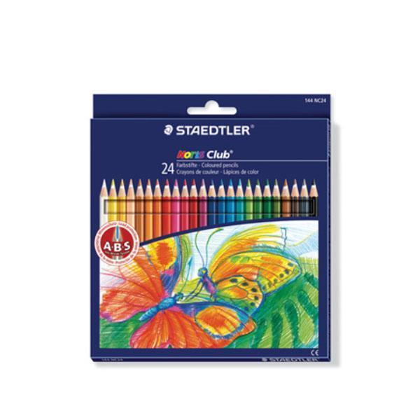 스테들러 노리스클럽 144 NC24 24칼라 색연필 세트