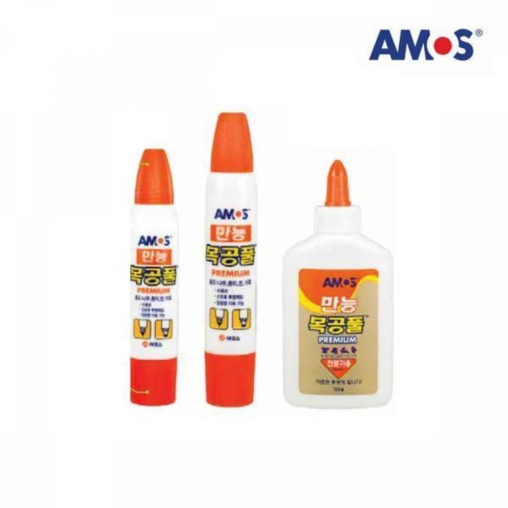 AMOS 목공풀 74g[제작 대량 도매 로고 인쇄 레이저 마킹 각인 나염 실크 uv 포장 공장 문의는 네이뽕]