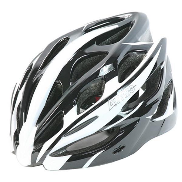 Avviso 라이딩자전거헬멧 유광블랙화이트