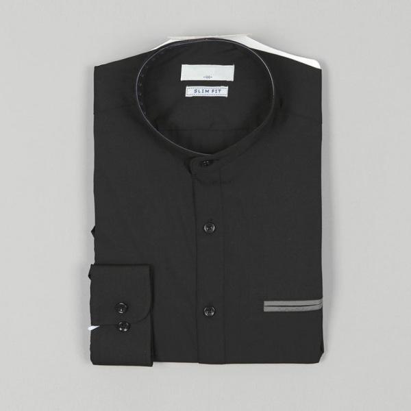 남자셔츠 포켓 포인트 슬림핏 와이셔츠 G0416073