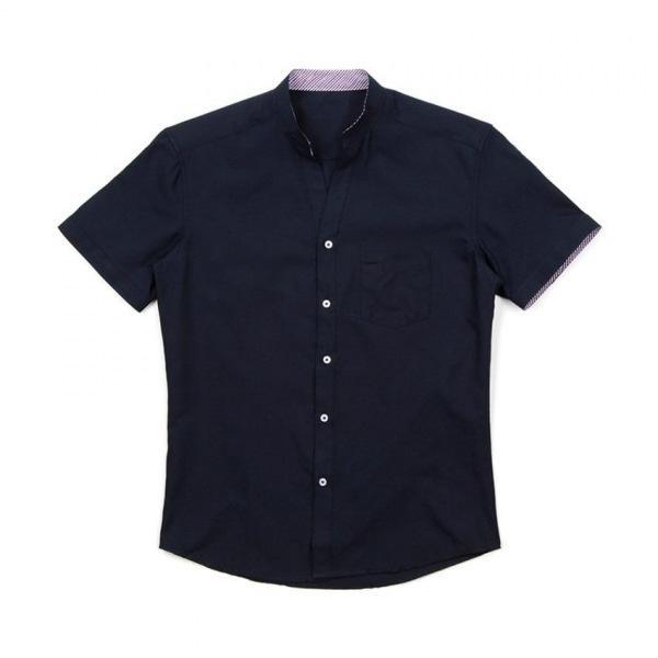 남자셔츠 시크릿 스트라이프 반팔셔츠 J0417027