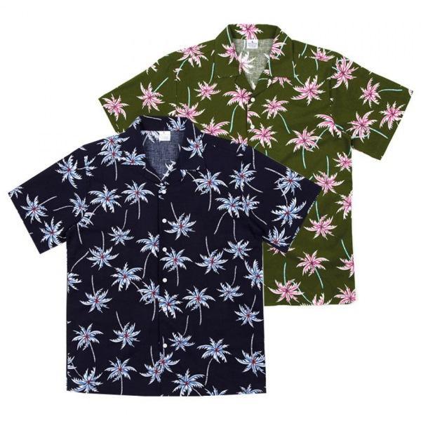 남자셔츠 썸머 하와이안 반팔셔츠 BP0417009