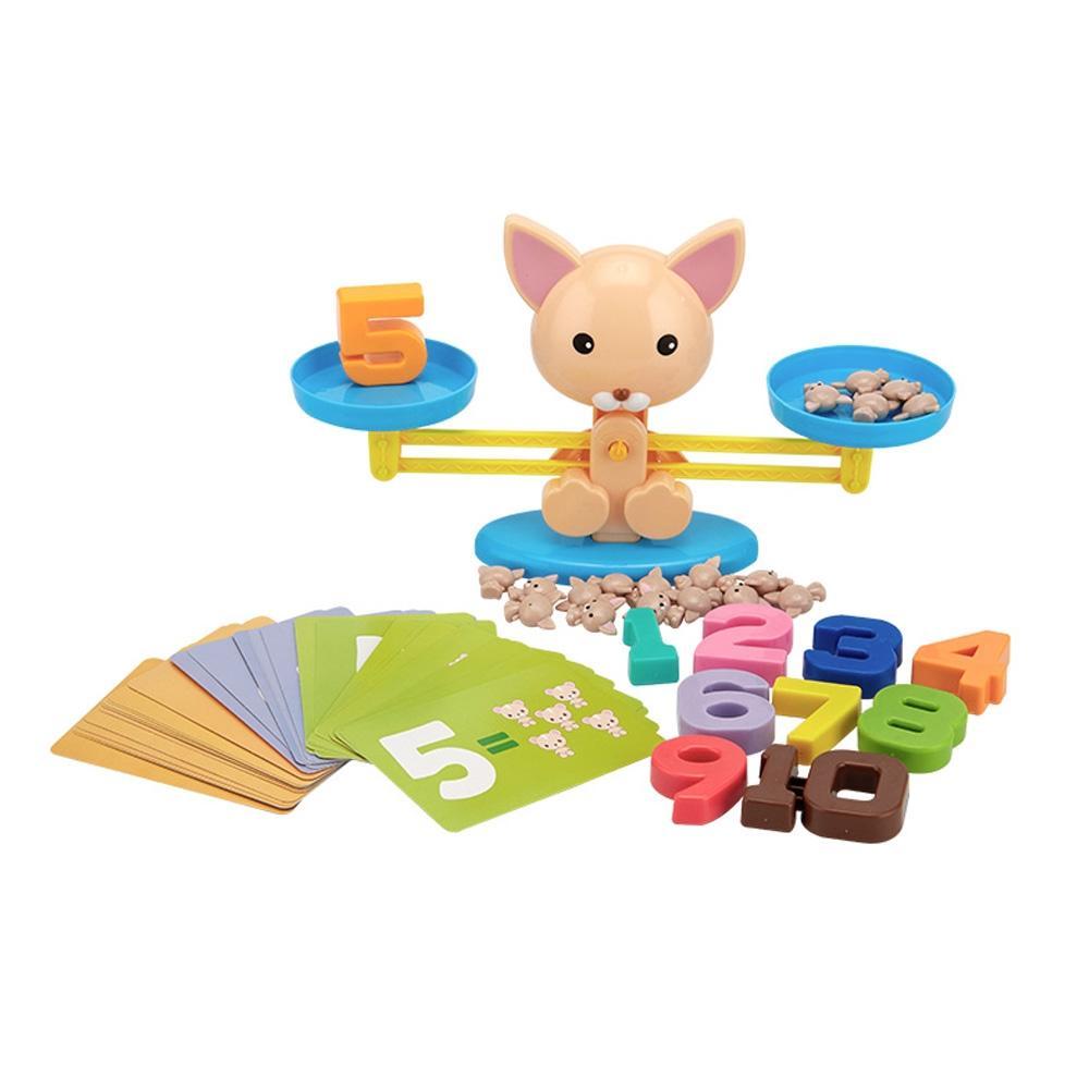 유아 과학 학습 교구 여우 밸런스 저울 어린이집 수놀이 유아수학 유아장난감 어린이장난감