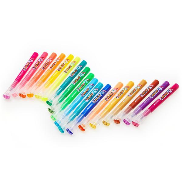 모나미 EG칼라풀데이 형광펜 [제작 대량 도매 로고 인쇄 레이저 마킹 각인 나염 실크 uv 포장 공장 문의는 네이뽕]