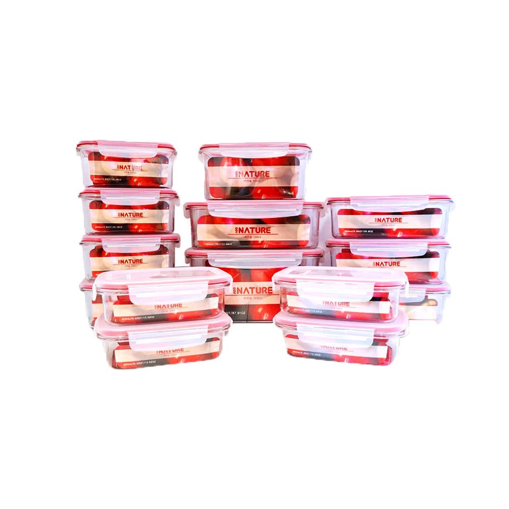 애드네이처 14종 밀폐용기 선물세트 설명절 추석선물