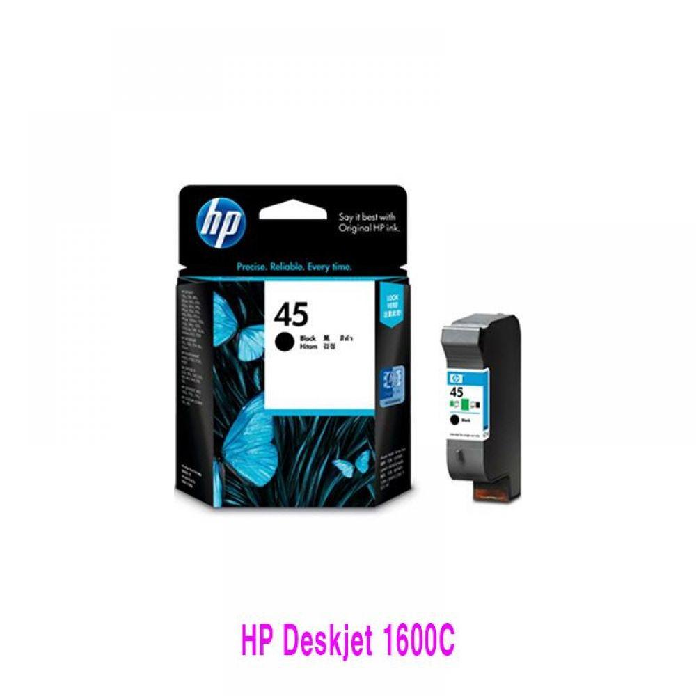 HP Deskjet 1600C(NO45)검정 정품잉크