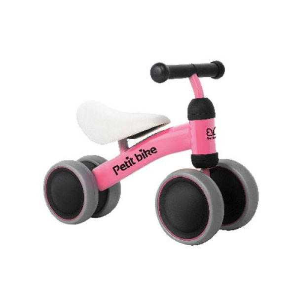 쁘띠바이크 핑크(90054) 유아바이크 유아자전거 유아붕붕카 실내바이크 돌선물