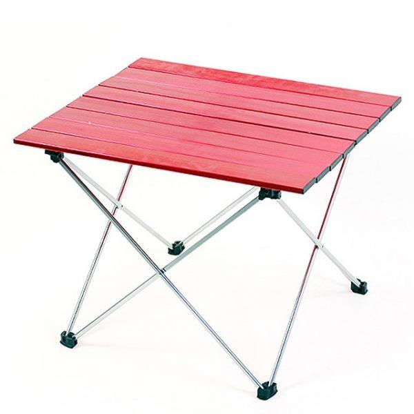 알루미늄 롤 테이블 8단 레드