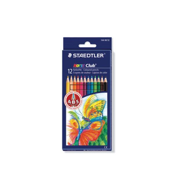 스테들러 노리스클럽 144 NC12 12칼라 색연필 세트