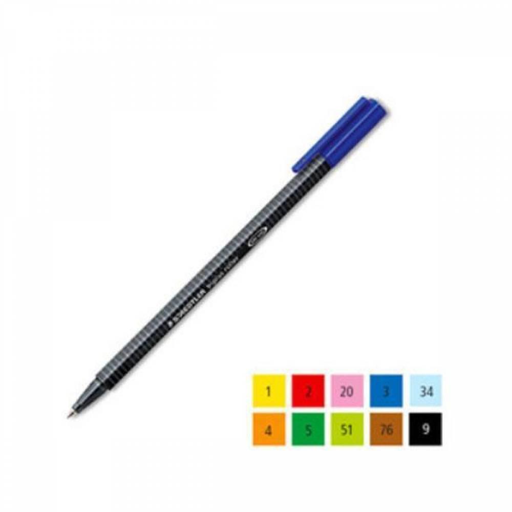 스테들러 트리플러스 롤러 403-FN 10칼라 잉크펜