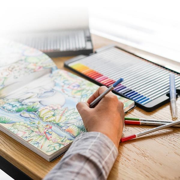 스테들러 카렛 125 아쿠아 수채색연필[제작 대량 도매 로고 인쇄 레이저 마킹 각인 나염 실크 uv 포장 공장 문의는 네이뽕]