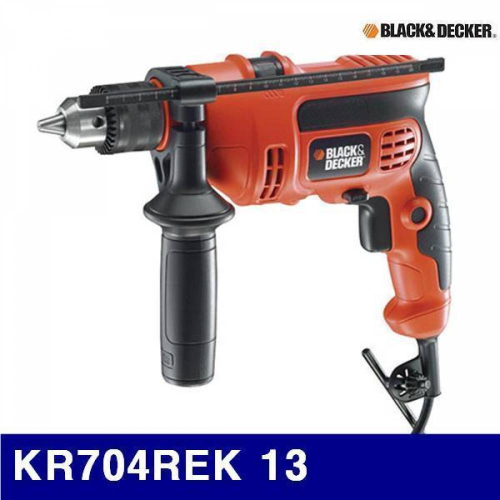 엑스캅터 - 블랙앤데커 5101173 임팩트드릴 KR704REK 13 710 (1EA)