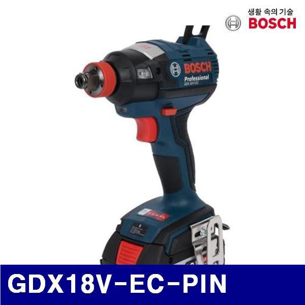 엑스캅터 - 보쉬 5188039 충전임팩트드라이버렌치-브러시리스 GDX18V-EC-PIN 18V/6.0Ah (1EA)