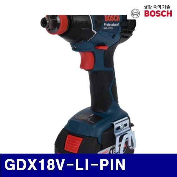 엑스캅터 - 보쉬 5188437 충전임팩트드라이버렌치 GDX18V-LI-PIN 18V/6.0Ah (1EA)