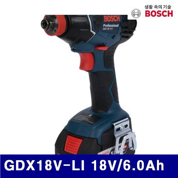 엑스캅터 - 보쉬 5188428 충전임팩트드라이버렌치 GDX18V-LI 18V/6.0Ah 0-2 800RPM (1EA)
