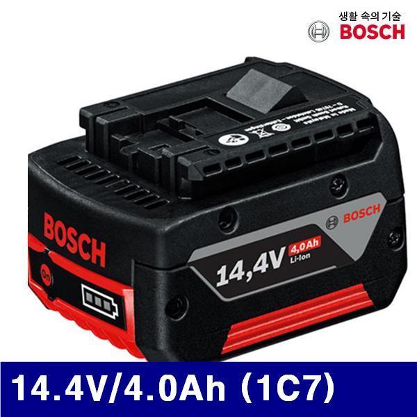 엑스캅터 - 보쉬 5068142 리튬 배터리 14.4V/4.0Ah (1C7) 14.4V용 (1EA)