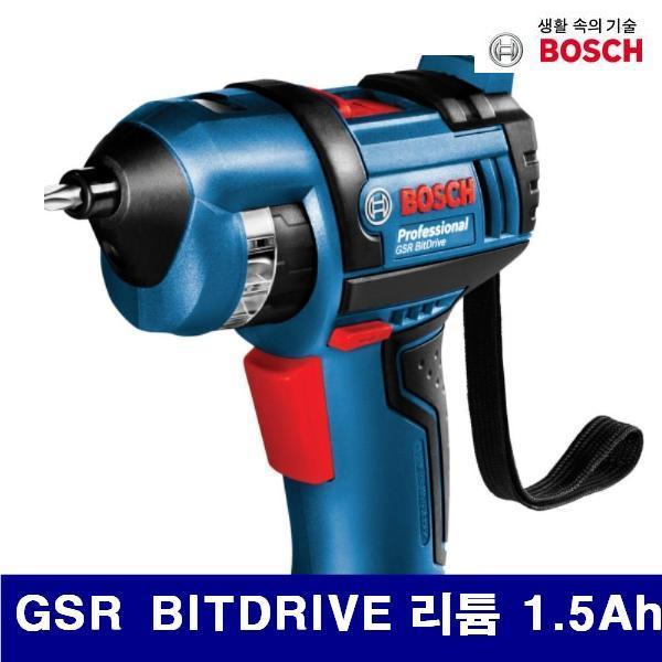 엑스캅터 - 보쉬 623-0109 충전비트드라이버 3.6V-리튬이온 GSR BITDRIVE 리튬 1.5Ah (1EA)