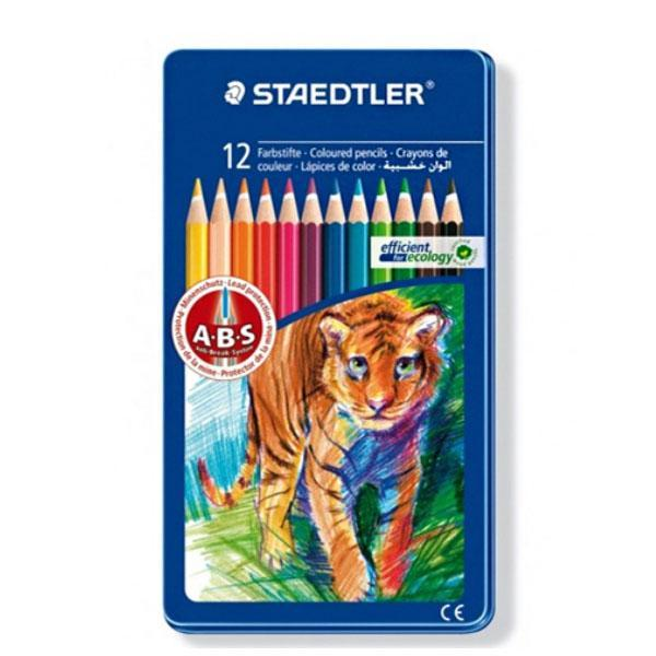 스테들러 일반금속케이스 145AM12 색연필세트