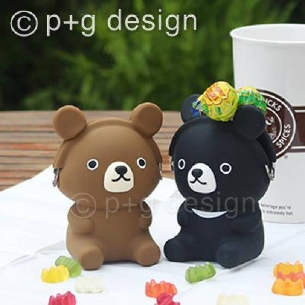 피지디자인 3D포치프렌즈 곰돌이베어 BEAR[제작 대량 도매 로고 인쇄 레이저 마킹 각인 나염 실크 uv 포장 공장 문의는 네이뽕]