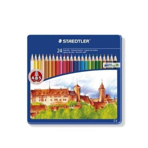 스테들러 일반금속케이스 145CM24 색연필세트