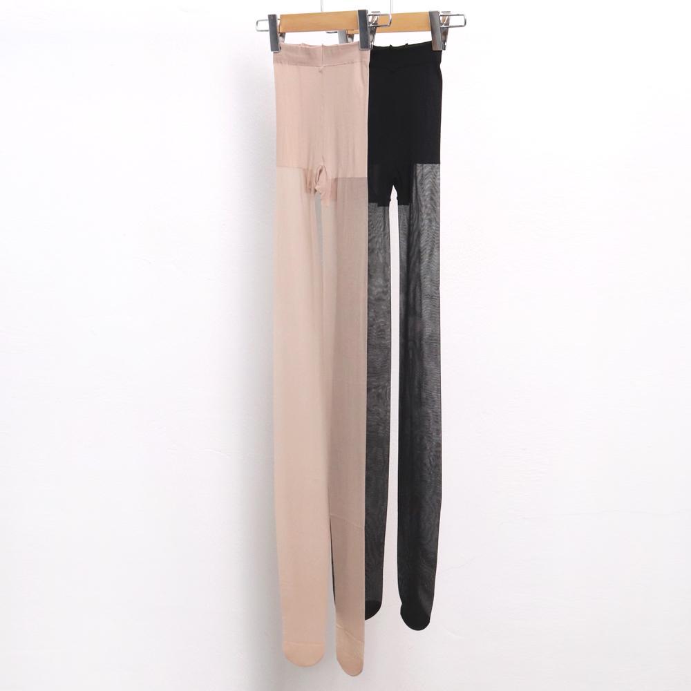 미시옷 7137L002 고탄력 기본 스타킹 DT 빅사이즈 여성의류 빅사이즈 여성의류 미시옷 임부복 20D실루엣팬티스타킹