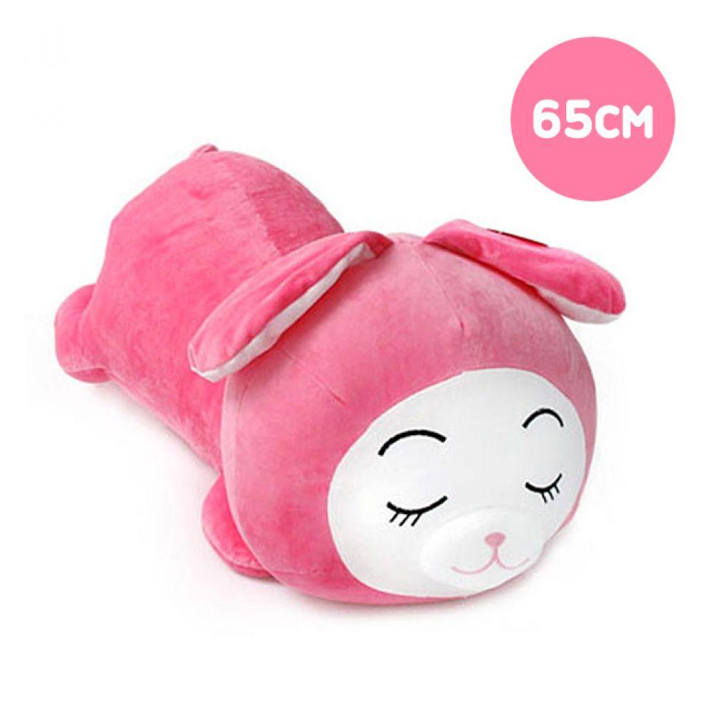 둥이둥이쿠션 핑크토끼-중형(65cm) 토끼인형 봉제인형 대형인형 캐릭터인형 토끼 동물인형 안고자는인형 인형선물 큰인형 인형쿠션