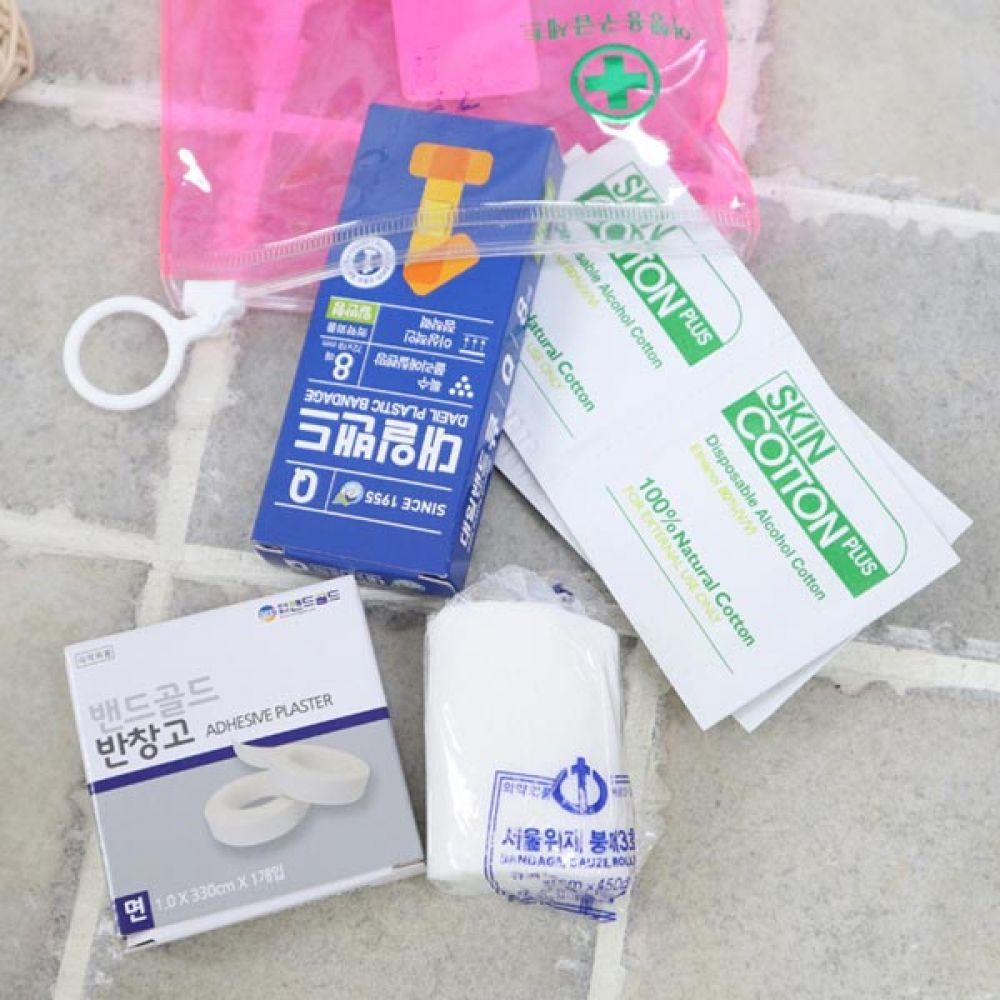 미니구급함세트 5종 구급가방 구급상자 의료용품 구급함 구급가방 구급상자 의료용품 생활용품