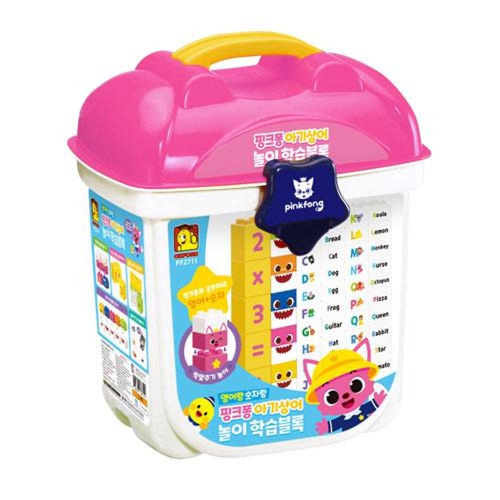 옥스포드 PF-2711 핑크퐁 아기상어 놀이학습블록 장난감 완구 토이 남아 여아 유아 선물 어린이집 유치원