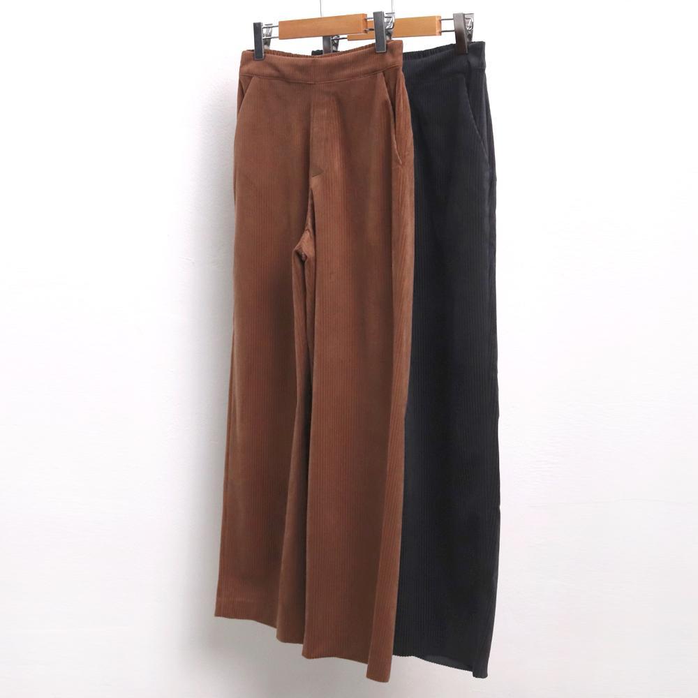 미시옷 7048L911 와이드 골덴 슬랙스 LT 빅사이즈 여성의류 빅사이즈 여성의류 미시옷 임부복 코듀로이통슬랙스