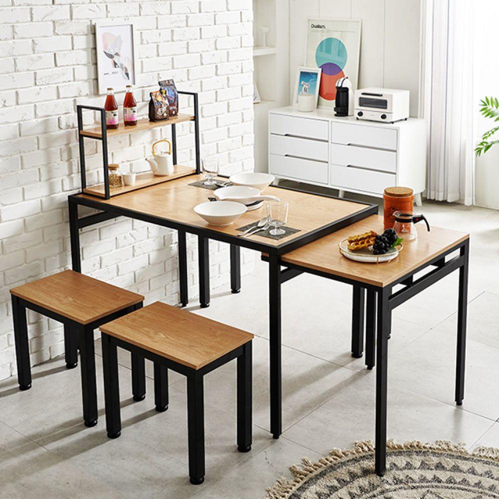 확장형식탁 식탁세트 수납식탁 4인용식탁 접이식식탁 확장형식탁 슬라이딩식탁 접이식식탁 식탁 식탁테이블 확장형테이블 슬라이딩테이블 접이식테이블 다용도테이블 늘어나는식탁